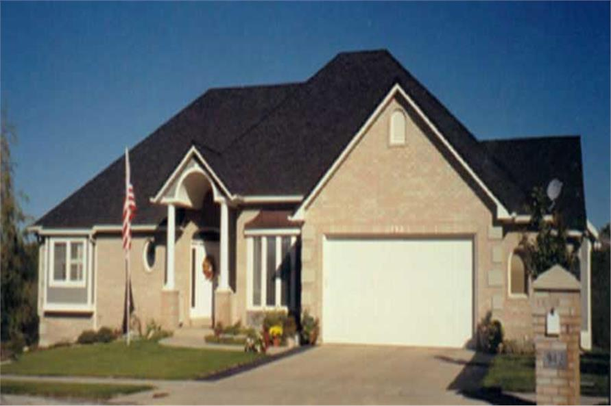 Main image for house plan # 8120