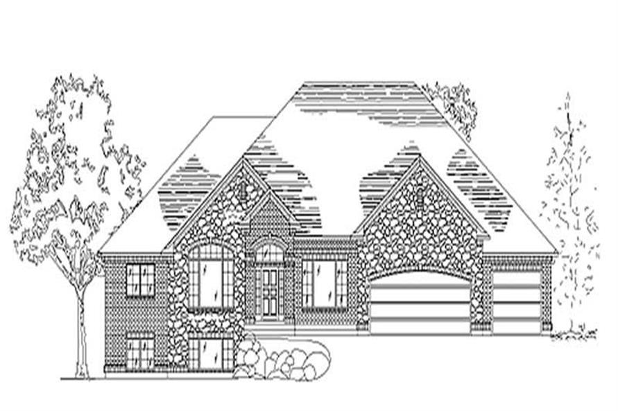 Main image for house plan # 8154