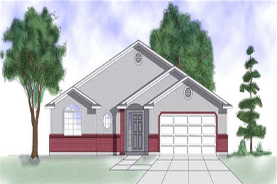 Main image for house plan # 8067