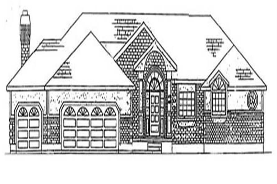 Main image for house plan # 8171