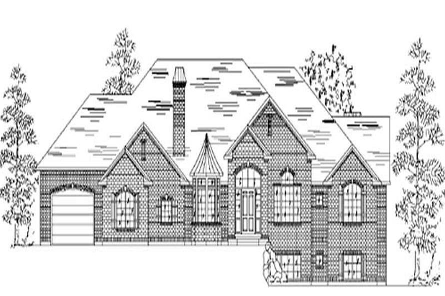 Main image for house plan # 8170