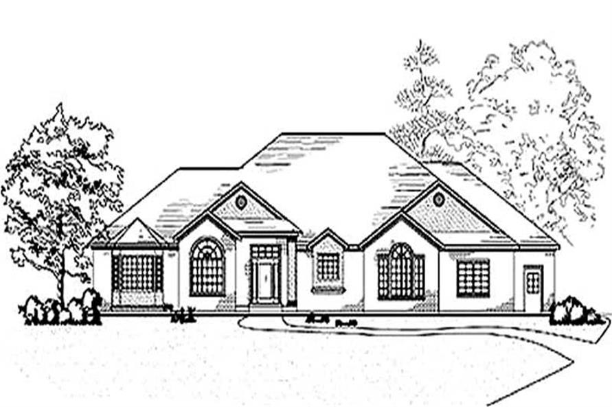 Main image for house plan # 8163