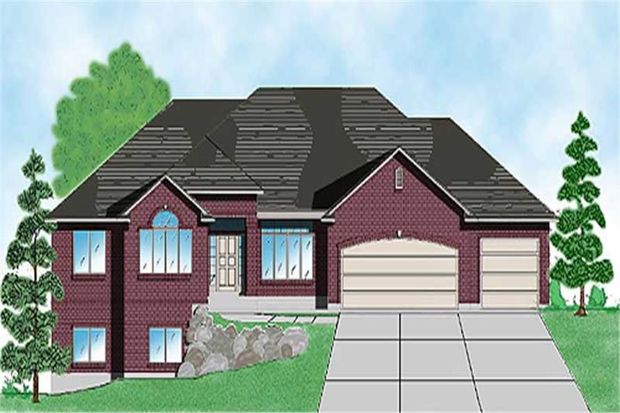 Main image for house plan # 8116