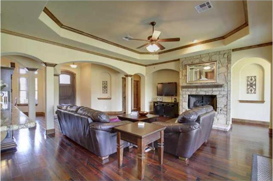 136-1037: Home Interior Photograph-Great Room