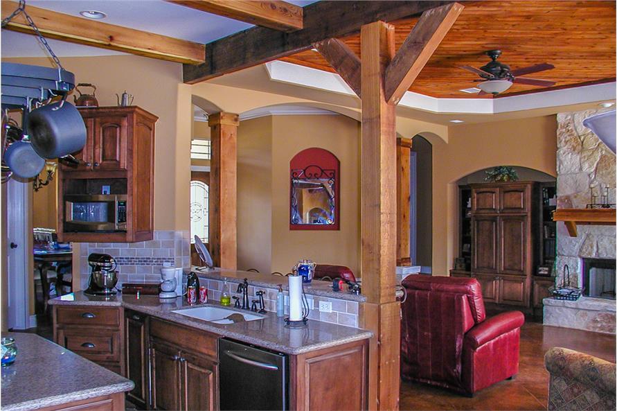 136-1037: Home Interior Photograph-Kitchen