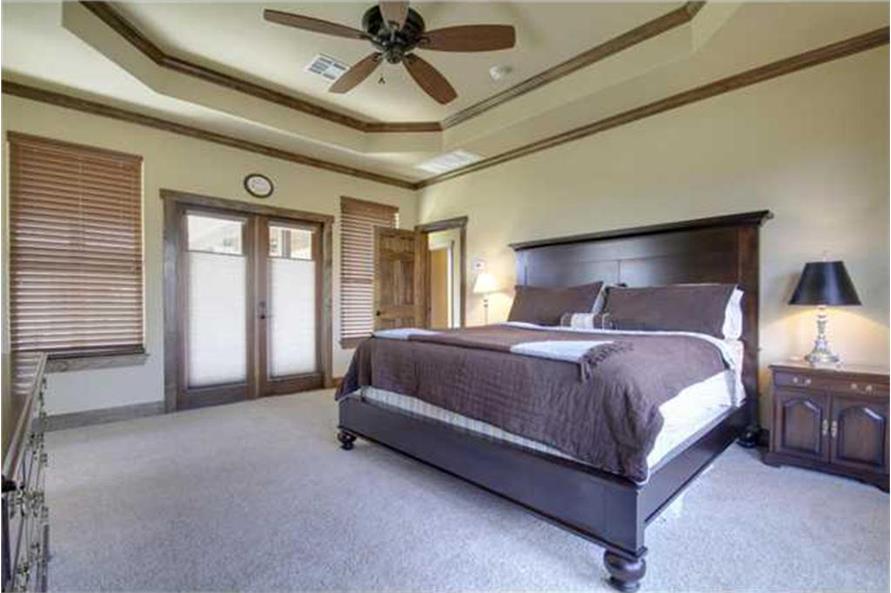 136-1037: Home Interior Photograph-Bedroom
