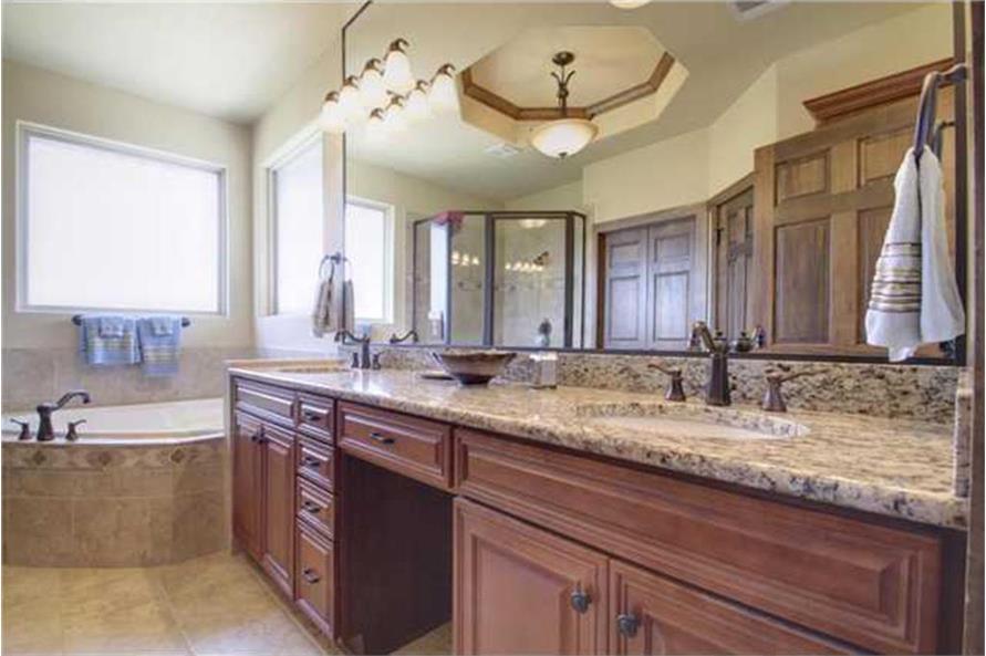 136-1037: Home Interior Photograph-Bathroom