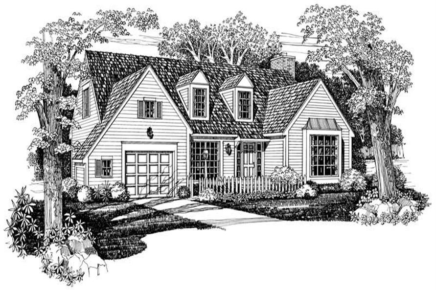 Main image for house plan # 18771
