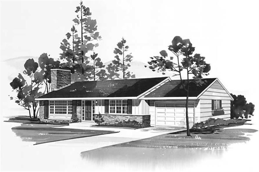 Main image for house plan # 17104