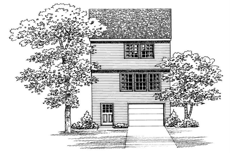 House Plan #137-1007