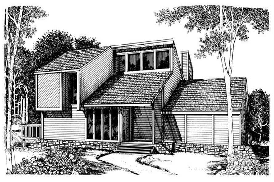 Main image for house plan # 17963