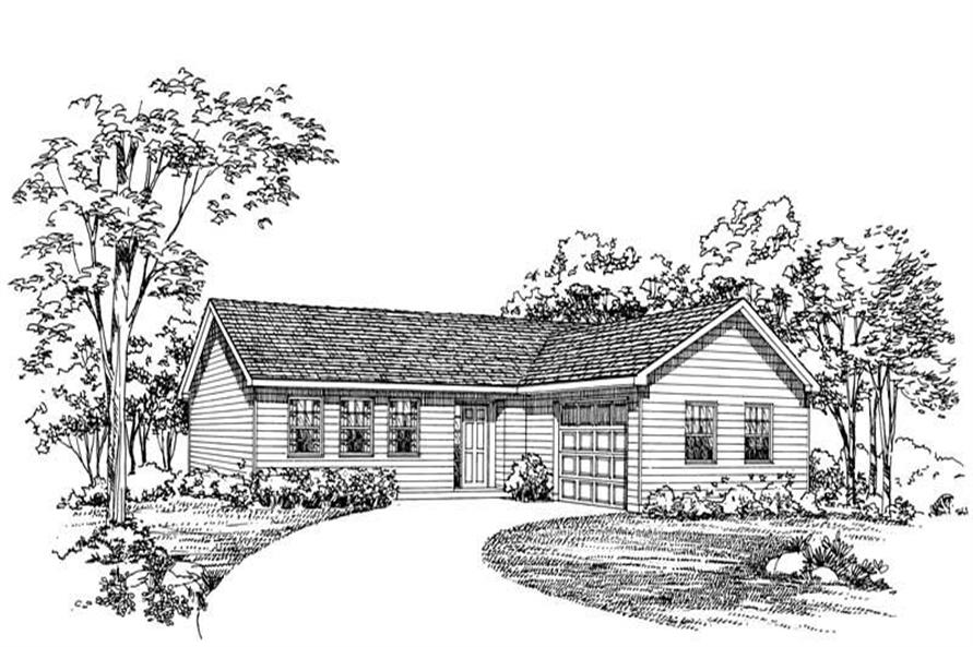 Main image for house plan # 18006