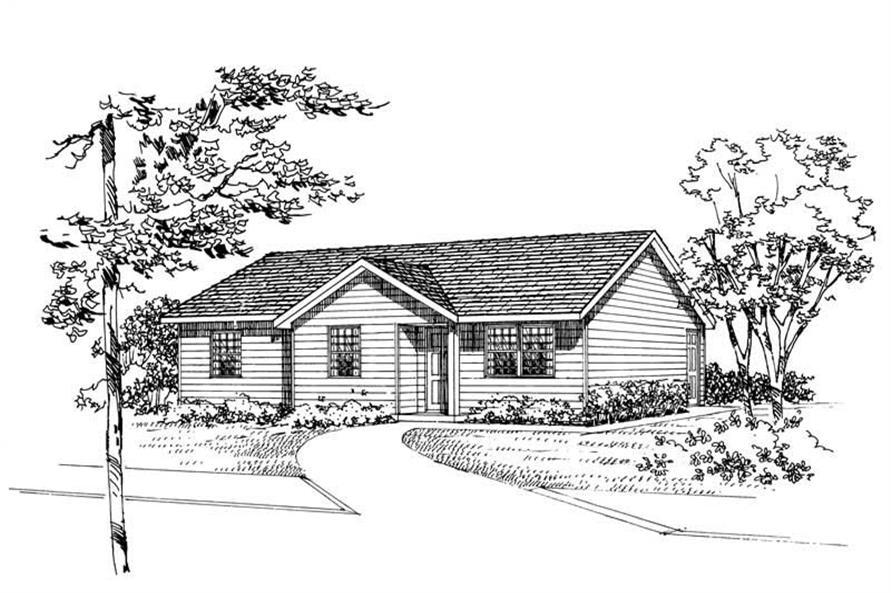 House Plan #137-1015