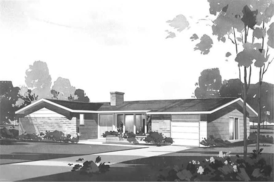 Main image for house plan # 17098