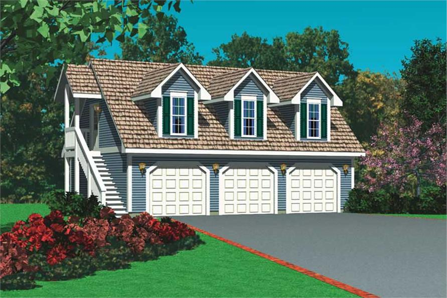 Main image for house plan # 18810