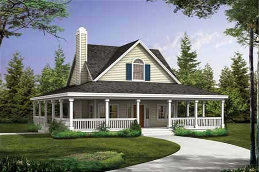 Main image for house plan # 18121