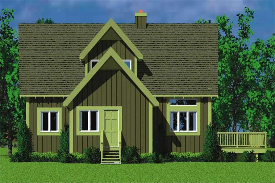 House Plan #137-1025