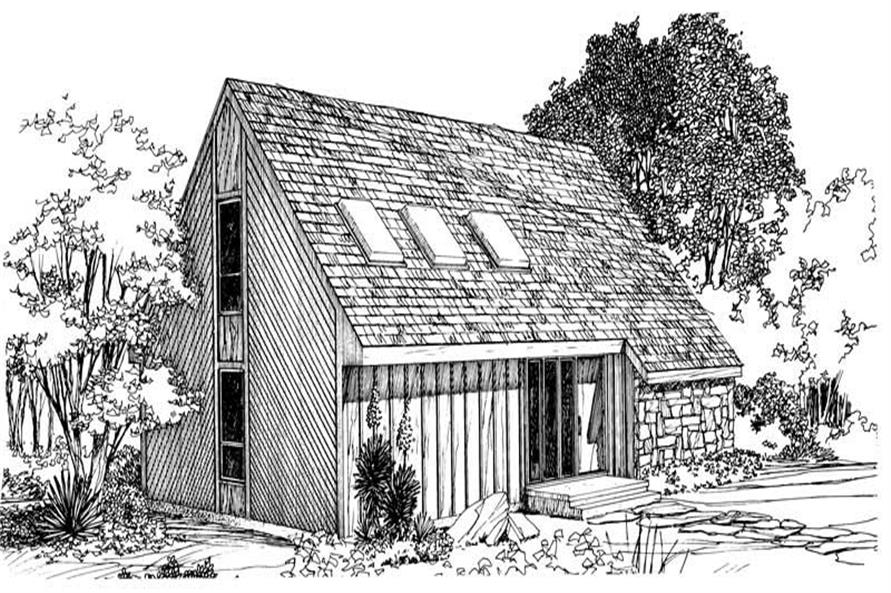 Main image for house plan # 17967