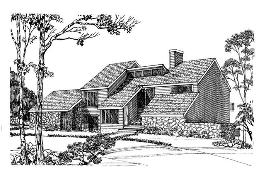 Main image for house plan # 17968