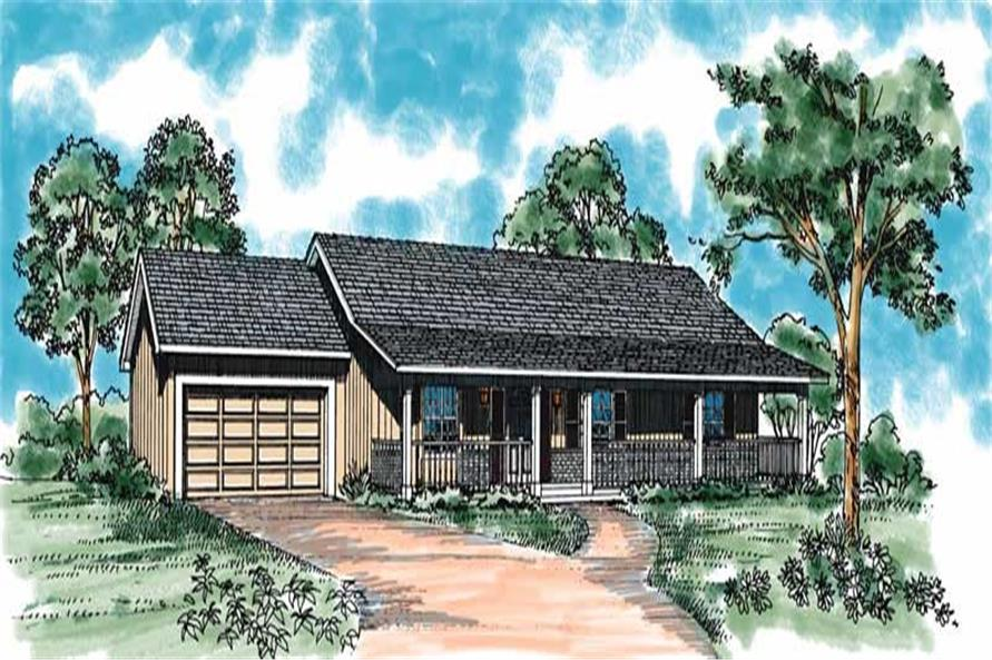Main image for house plan # 18119