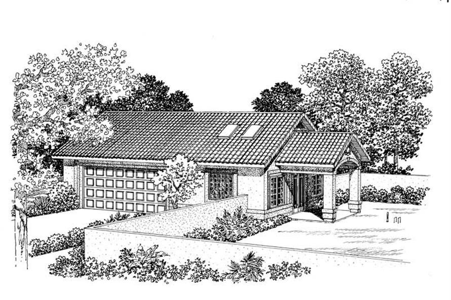 Main image for house plan # 18829