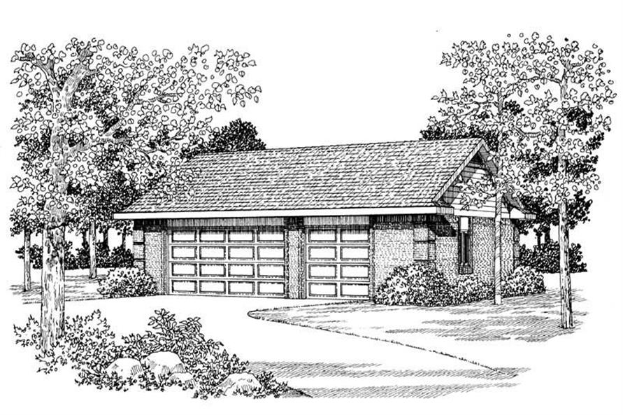 Main image for house plan # 18840