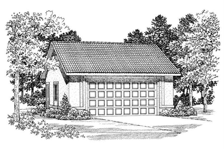Main image for house plan # 18850