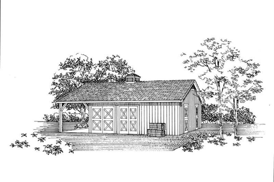 Main image for house plan # 18868