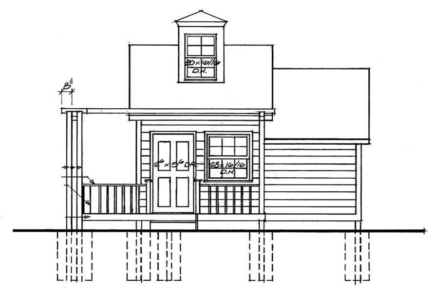House Plan #137-1058
