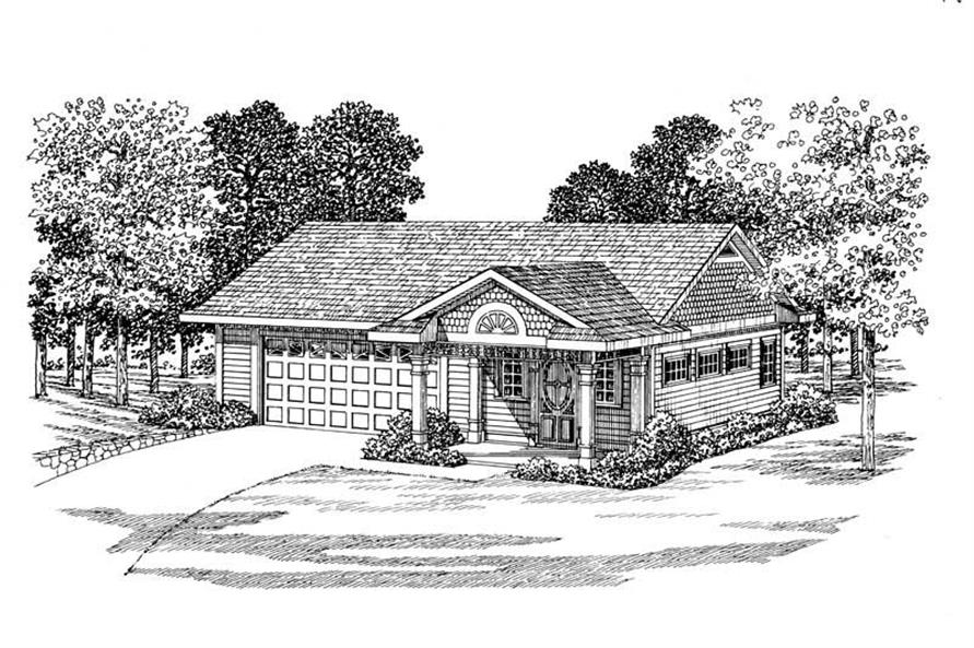 Main image for house plan # 18828