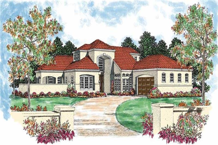 Main image for house plan # 18157
