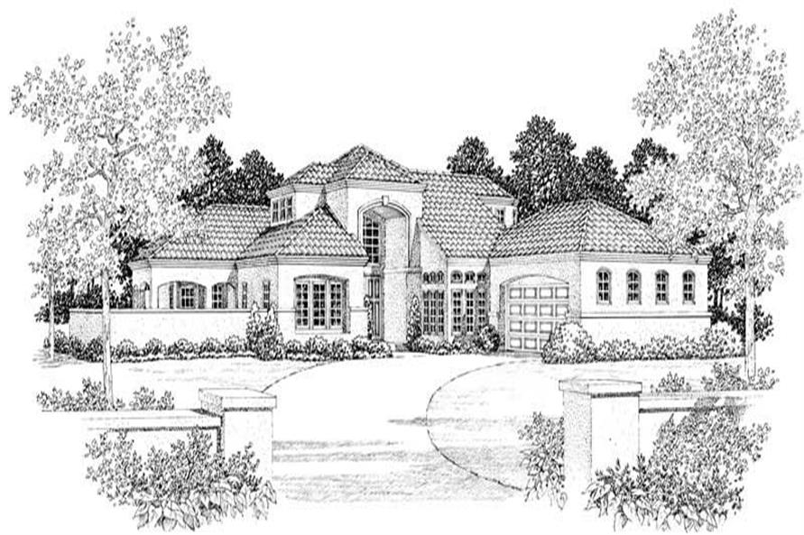 House Plan #137-1063