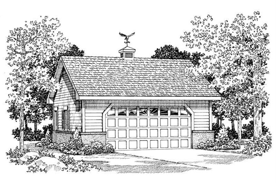 Main image for house plan # 18851