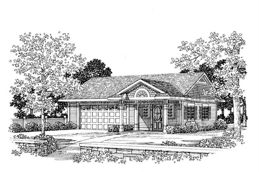 Main image for house plan # 18819