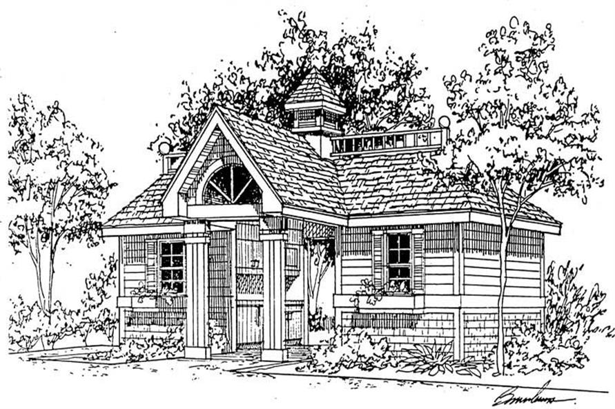 Main image for house plan # 18862