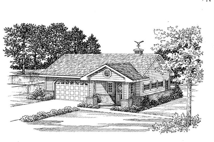 Main image for house plan # 18826