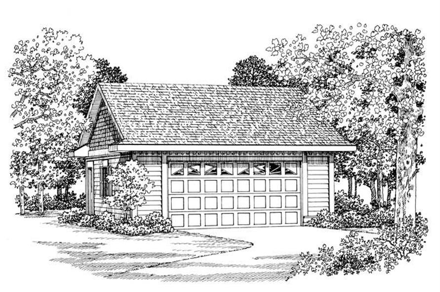 Main image for house plan # 18853