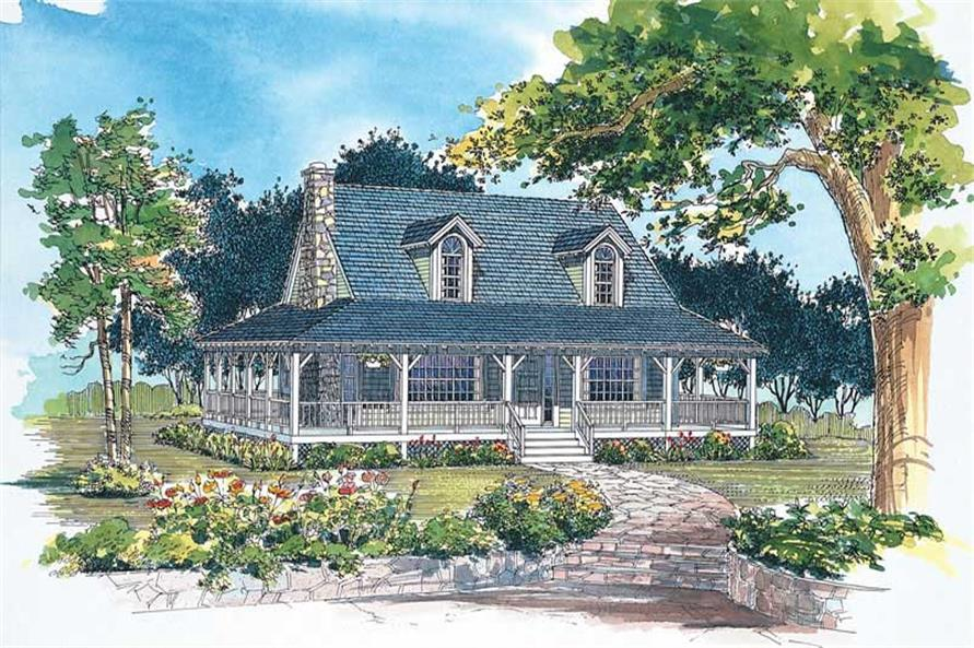 Main image for house plan # 18147