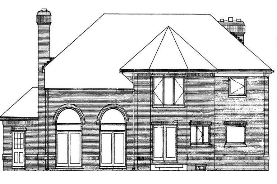 House Plan #137-1083