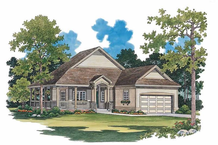 Main image for house plan # 18126