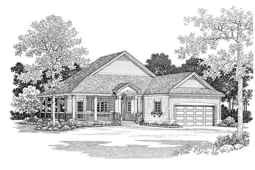 House Plan #137-1085