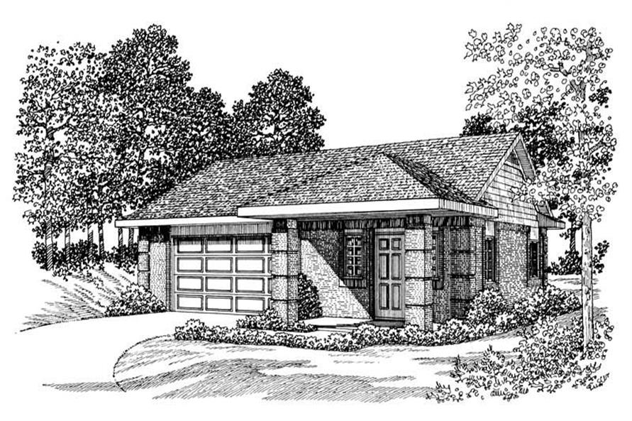 Main image for house plan # 18823
