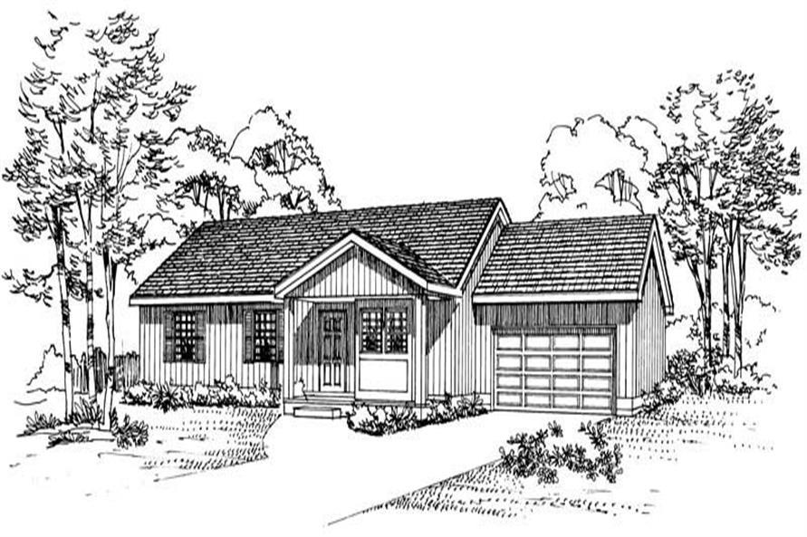 House Plan #137-1088
