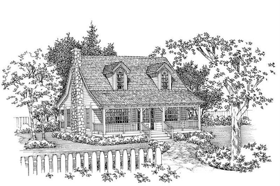 House Plan #137-1090