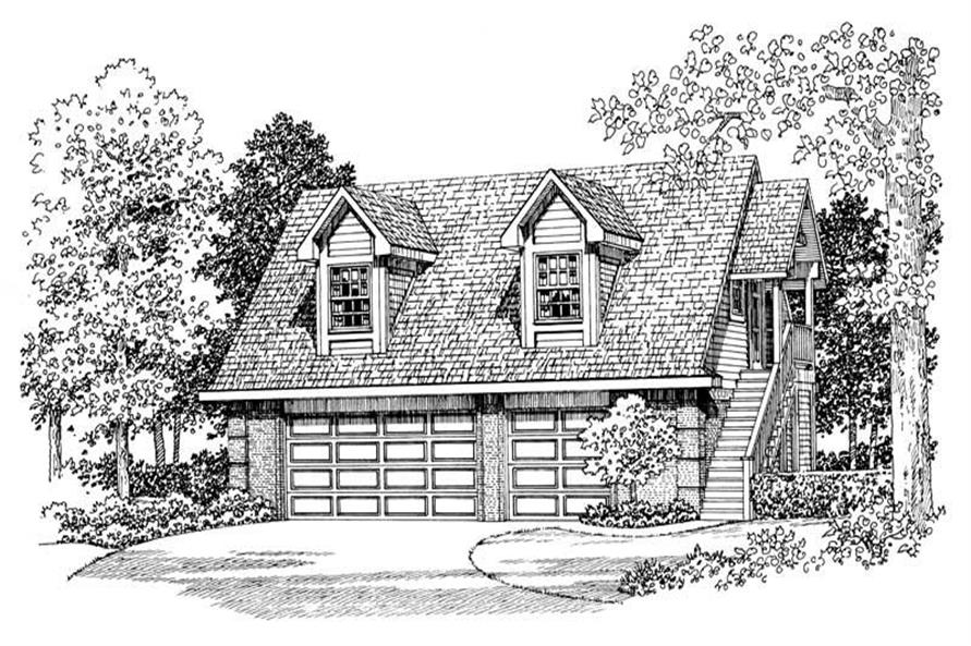 Main image for house plan # 18848