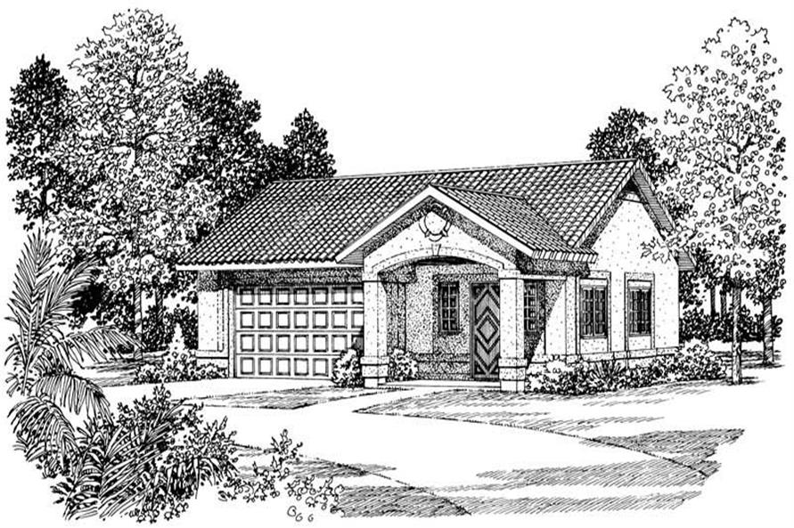 Main image for house plan # 18816