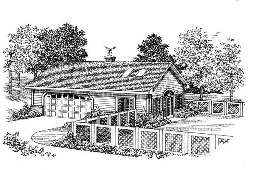 Main image for house plan # 18830