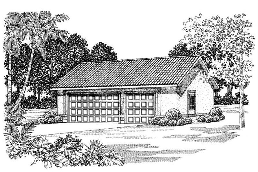 Main image for house plan # 18838