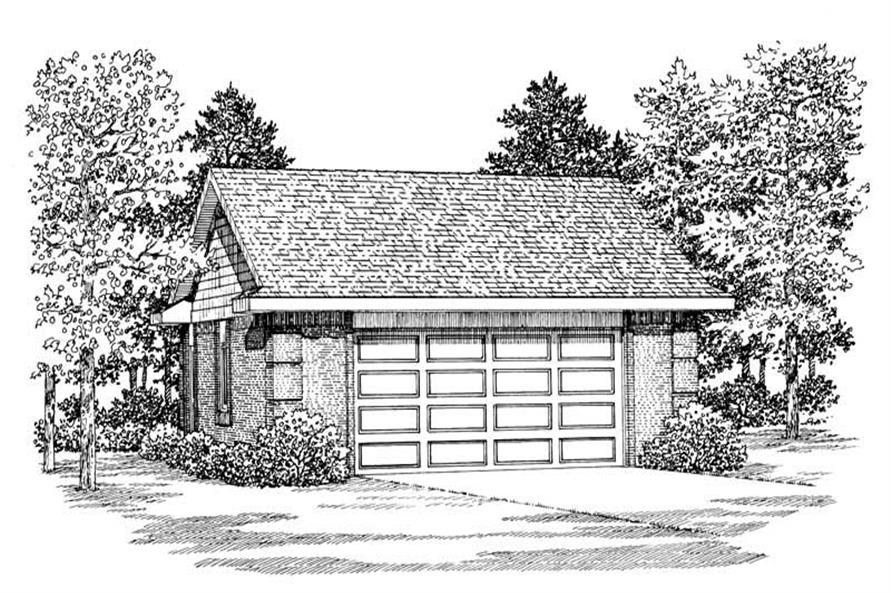 Main image for house plan # 18852