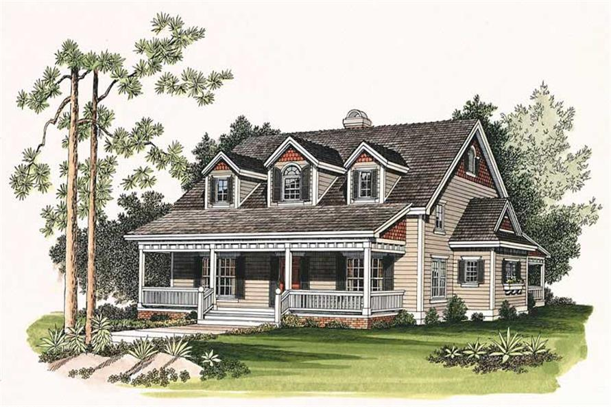 Main image for house plan # 18151
